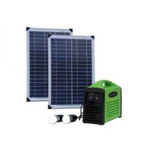 Camping kit 80 (2x25W / 80Wh batteri)