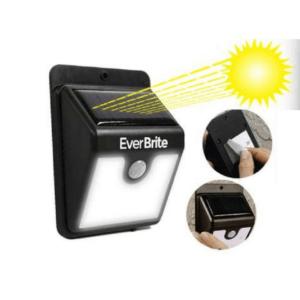 Everbrite solcellelampe med sensor