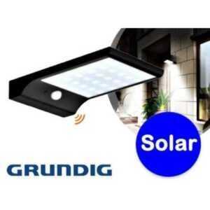 Grundig solcelle lampe med bevægelsessensor