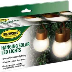 Hængende LED Solcellelamper - 3-Pack