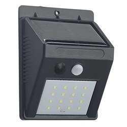 HORTUS Solcellelampe M/ Sensor 2-pak - Sort