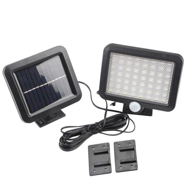 Lampe med bevægelsessensor - Solcelle/Solar