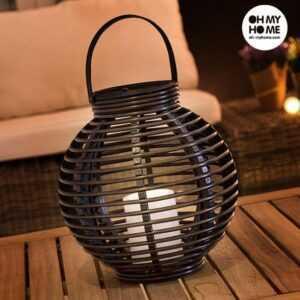 Oh My Home Solar LED Lanterne med Stearinlys