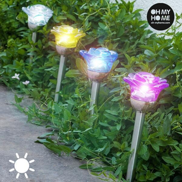 Oh My Home Solcelle Blomsterlampe