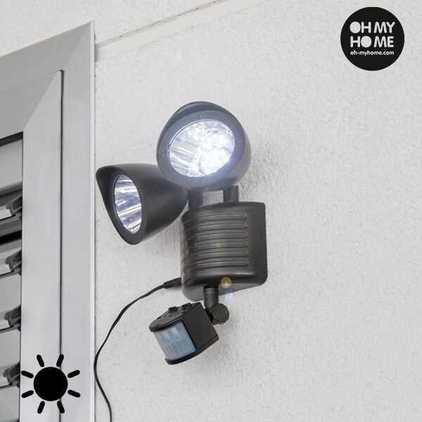 Oh My Home Solcellelampe med Bevægelsessensor