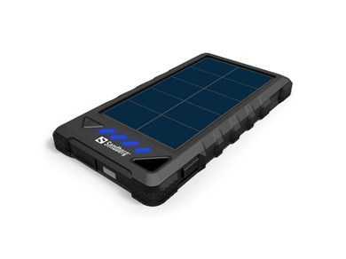 PowerBank Outdoor Solar 8000 mAh, Black