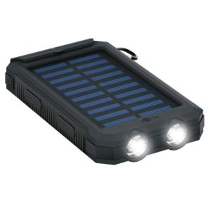 Powerbank m. solceller - 8000 mah