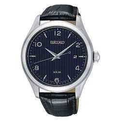 Seiko Solar Mand Læder ur