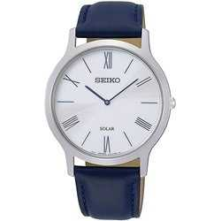Seiko Solar Unisex Læder ur