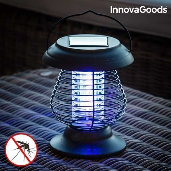 Solcelle lampe mod myg - lanterne