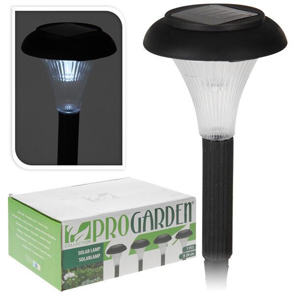 Solcelle lamper til haven - 7 stk