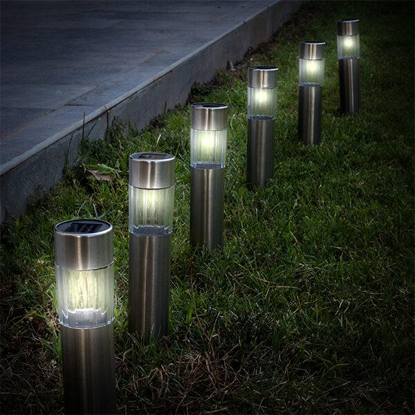 Solcellelampe Stake (Pakke med 6)