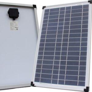 Solcellepanel 25W 12V Poly, VIVA Energi