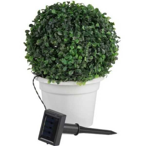 Sollecelle lys busk - 15 LED - 24 x 31 cm