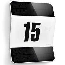Steinel Sensor Udendørs sol LED lys Husnummer Xsol L2-S Hvid
