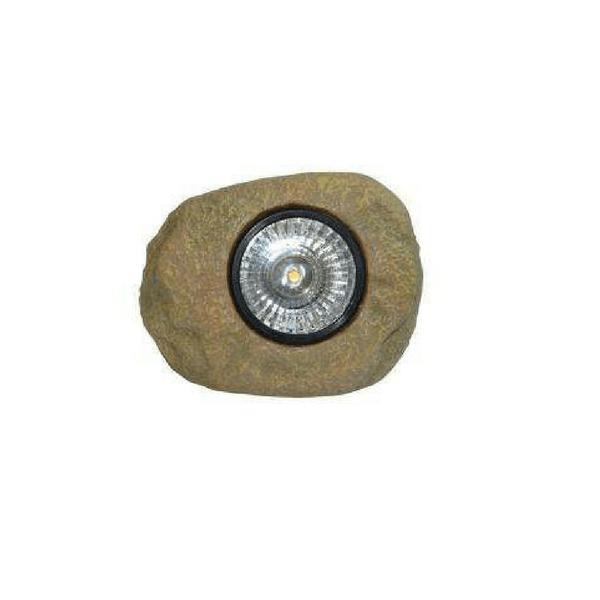 Sten med solcellelamper med LED lys