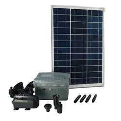 Ubbink SolarMax 1000 sæt med solcellepanel, pumpe og batteri 1351182