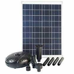 Ubbink sæt med solpanel og pumpe SolarMax 2500
