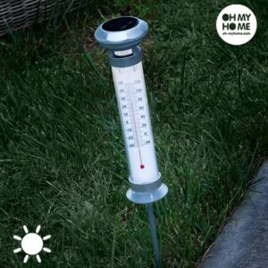 Oh My Home Solar Termometer-Lampe