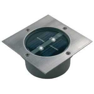 Solar Markbelysning 2 LED Firkantet