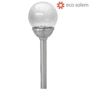 Solcelle lampe til haven