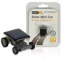 Soldrevet minibil