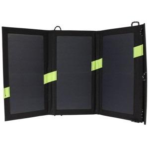 Solcelleoplader og solcellepanel 20w poweradd