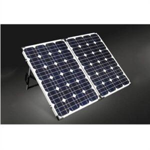 100W (300Wh) solcellekuffert med lader