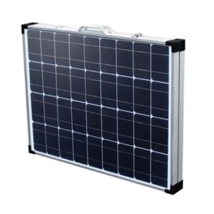 CARBEST Solcellekuffert 100 Watt med indbygget laderegulator