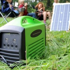 Camping kit 240 (25W / 240Wh batteri / 230V AC)