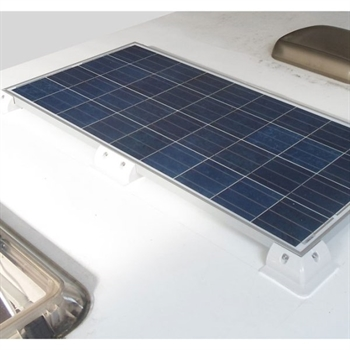 Camping solcelleanlæg 350-400Wh (100Wp)