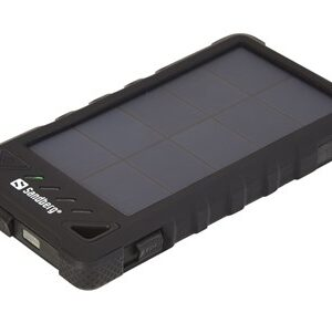 PowerBank Outdoor Solar 8000 mAh, Black